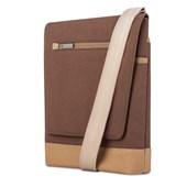 Aerio Lite iPad Messenger Bag - Brown