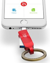iKlip Duo+  Lightning Flash Drive 32GB - Red