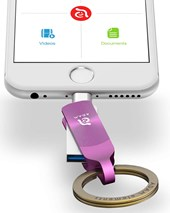 iKlip Duo+  Lightning Flash Drive 32GB - Purple