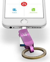 iKlip Duo+  Lightning Flash Drive 128GB - Purple