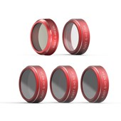 5 in 1 Filter set: ND16, ND32, ND64, CPL, STAR for Phantom 4