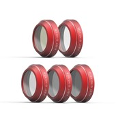 5 in 1 Filter set:ND4,ND8,ND16,CPL,STAR for Mavic