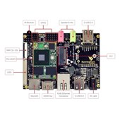 Hummingboard Edge i2EX + WIFI/BT + 220V PSU