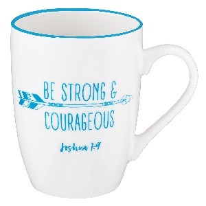 Picture of MUG BE STRONG AND COURAGEOUS