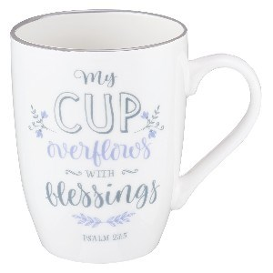 Picture of MUG MY CUP OVERFLOWS