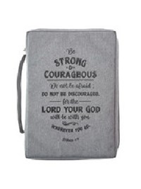 Picture of BIBLE BAG BE STRONG AND COURAGEOUS MEDIUM