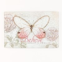 Picture of GLASS CUTTING BOARD MED  BELIEVE
