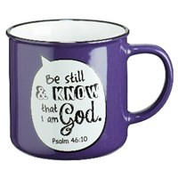Picture of MUG BE STILL AND KNOW THAT I AM GOD