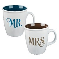 Picture of MR & MRS INSPIRATIONAL MUGS SET