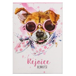 Picture of NOTEPADS PET REJOICE ALWAYS