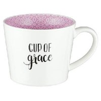 Picture of MUG CUP GRACE PURPLE