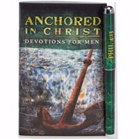 Picture of PEN GIFT SET ANCHORED IN CHRIST