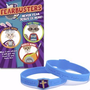 Picture of FEARBUSTERS NEVER FEAR JESUS IS HERE