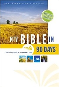 Picture of NIV BIBLE IN 90 DAYS HC