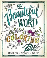 Picture of NIV BEAUTIFUL WORD COLOURING BIBLE