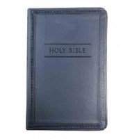 Picture of NIV COMPACT CHARCOAL IMITATION LEATHER BIBLE