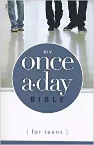 Picture of NIV ONCE A DAY BIBLE FOR TEENS