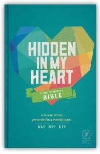 Picture of NLT HIDDEN IN MY HEART BIBLE
