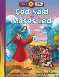 Picture of GOD SAID AND MOSES LED