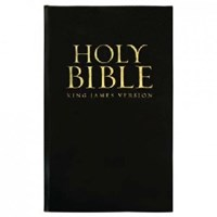 Picture of KJV BIBLE STANDARD BLACK