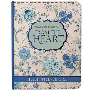 Picture of FROM THE HEART ONE MINUTE DEVOTIONS LUX LEATHER