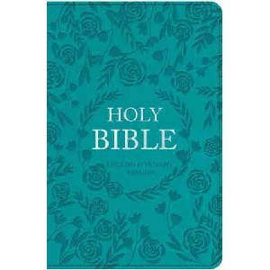 Picture of ESV STANDARD INDEXED BBIBLE TURQUOISE WITH ZIP