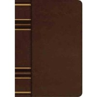 Picture of ESV COMPACT BIBLE DARK BROWN