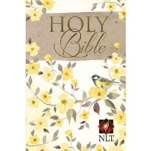 Picture of NLT COMPACT BIBLE YELLOW FLOWERS