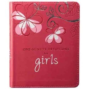 Picture of ONE MINUTE DEVOTIONS FOR GIRLS LUX LEATHER
