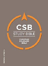 Picture of CSB STUDY BIBLE LARGE PRINT INDEXED
