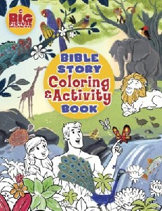 Picture of BIBLE STORY COLOURING AND ACTIVITY BOOK