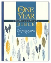 Picture of NLT ONE YEAR CHRONOLOGICAL EXPRESSIONS BIBLE H/B