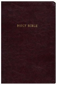 Picture of NKJV REFERENCE BIBLE SUPER GIANT PRINT INDEXED BUR