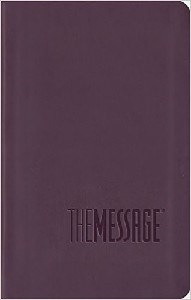 Picture of MESSAGE BIBLE COMPACT PURPLE