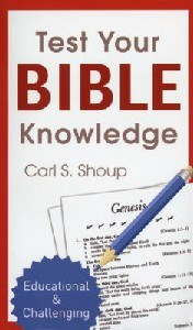 Picture of TEST YOUR BIBLE KNOWLEDGE