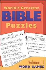 Picture of WORLDS GREATEST BIBLE PUZZLES VOL11