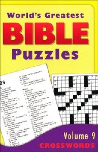 Picture of WORLDS GREATEST BIBLE  PUZZLES VOL9