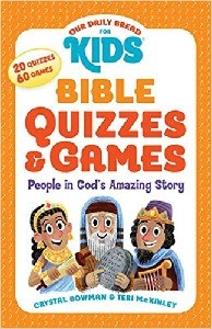 Picture of OUR DAILY BREAD FOR KIDS BIBLE QUIZZES AND GAMES