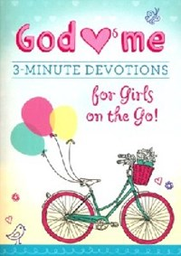 Picture of 3 MINUTE DEVOTIONS FOR GIRLS ON THE GO