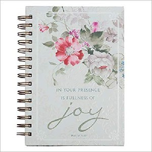 Picture of JOURNAL IN YOUR PRESENCE IS FULLNESS LARGE WIREBOU