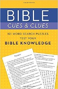 Picture of BIBLE CUES AND CLUES 101 WORDS SEARCH PUZZLES