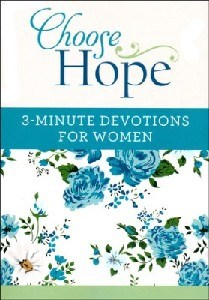 Picture of CHOOSE HOPE 3 MIN DEVOTIONAL FOR WOMEN