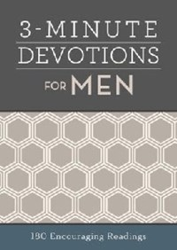 Picture of 3 MINUTE DEVOTIONS FOR MEN