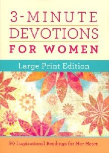 Picture of 3 MINUTE DEVOTIONS FOR WOMEN L/P