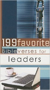 Picture of 199 FAVORITE BIBLE VERSES FOR LEADERS