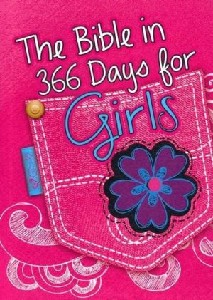 Picture of BIBLE IN 366 DAYS FOR GIRLS