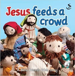 Picture of JESUS FEEDS A CROWD BOARDBOOK